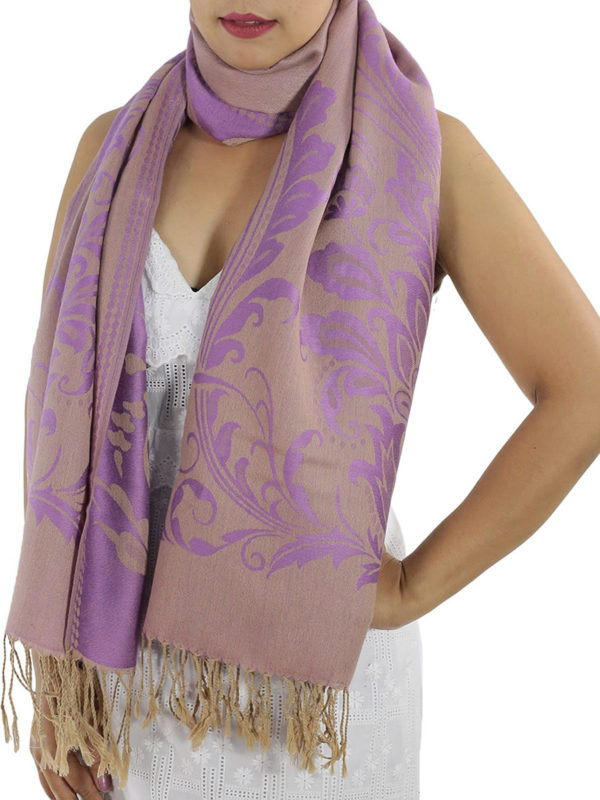 buy purple pashmina shawl